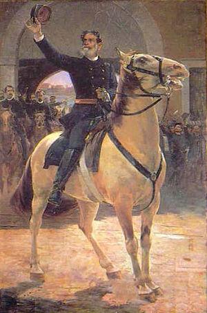 History of Brazil - Henrique Bernardelli: Marechal Deodoro da Fonseca, c. 1900.