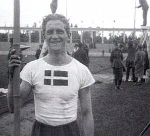 Henry Petersen - Petersen at the 1920 Olympics