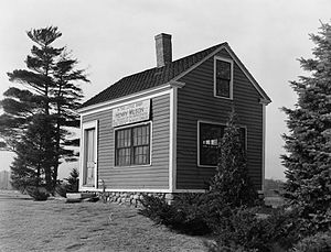 Henry Wilson - Henry Wilson's shoeshop in Natick, Massachusetts