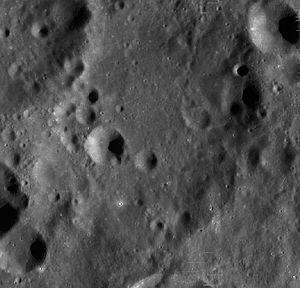Henyey (crater) - Image: Henyey crater LRO WAC