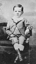 Herbert Hoover in 1877