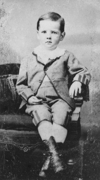 Herbert Hoover - 1877 Herbert Hoover tintype