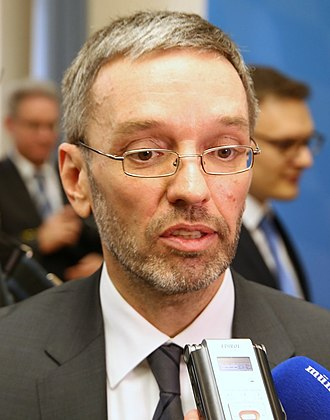 Kurz government - Image: Herbert Kickl (cropped)