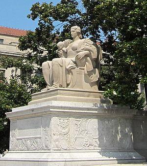 Heritage (sculpture) - The sculpture in 2010