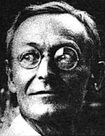 Hermann Hesse, photographie en noir et blanc d e1925