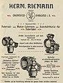 Hermann Riemann Fahrradlampen 1900.jpg