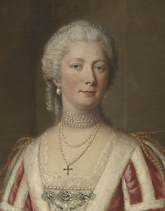 Spouse of the Prime Minister of the United Kingdom - Portrait of Hester Pitt