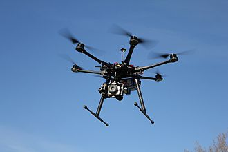 DJI (company) - DJI Spreading Wings S800 hexacopter