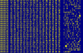 Hexcode stoned virus DOS codepage 850.png