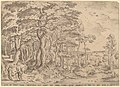 Hieronymus Cock after Pieter Bruegel the Elder, Landscape with the Temptation of Christ, NGA 52385.jpg