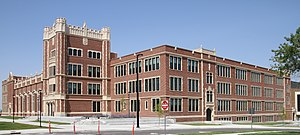 Natrona County High School - Image: High School Casper WY