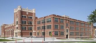 Natrona County High School - Image: High School Casper WY