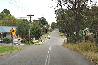Hill Top, New South Wales - Image: Hill Top Main Street