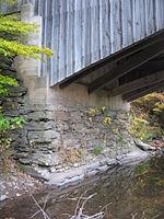 Hillsgrove Covered Bridge abutment.jpg
