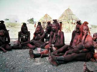 Bilateral descent - The Himba of Namibia live under a tribal structure based on bilateral descent.