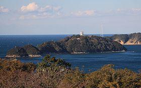 日和山から望む日向島(2015年3月10日)