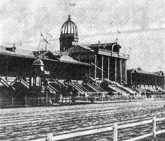 Hipódromo Argentino de Palermo - the Hipódromo in 1889.