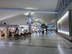 Hiroshima Airport - Hiroshima Airport interior