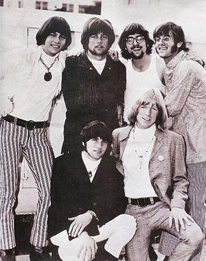 People! - People! 1968 Back Row: (l to r) Robb Levin, Denny Fridkin, Al Ribisi, Geoff Levin; Front Row: Gene Mason and Larry Norman