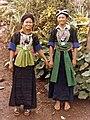 Hmong girls in Laos 1973.jpg