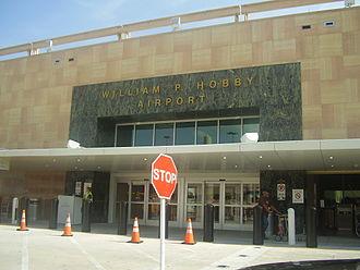William P. Hobby Airport - The Hobby Airport terminal