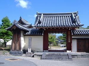 Hokke-ji - The entrance