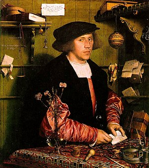 Holbein, Hans - Georg Gisze, a German merchant in London.jpg