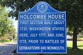Holcombe House, Lambertville, NJ - information sign.jpg