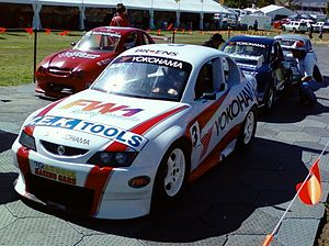 Aussie Racing Cars - A Holden VY Commodore-bodied Aussie Racing Car.