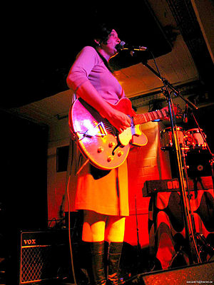 Holly Golightly (singer) - Performing in Munster, 2005