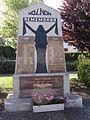Holnon (Aisne) monument aux morts 1914-18, 1939-45.JPG