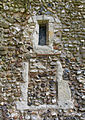Holy Trinity Church, Takeley - nave north small window and blocked window at east.jpg