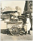 Hot Dog Stand West St and North Moore Manhattan by Berenice Abbott in 1936.jpg