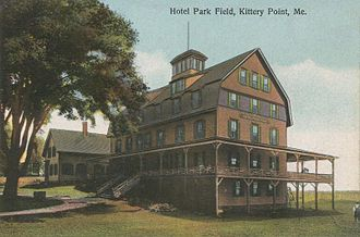 Kittery Point, Maine - Image: Hotel Parkfield, Kittery Point, ME