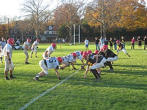 Lawrenceville School - House Football: Griswold vs. Woodhull