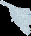 Huachinera Sonora map.png
