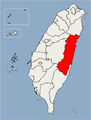Hualien County Location Map.png