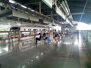 Huangge station Guangzhou Metro station