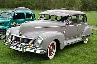 Hudson Commodore - 1947 Hudson Commodore Super Six four-door sedan