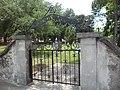 Huguenot Cemetery gate, St. Augustine.JPG