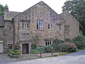 Listed buildings in Worsthorne-with-Hurstwood - Image: Hurstwood Hall geograph.org.uk 924882