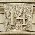 Husnummer, Tegnergatan 14, september 2018 (DSCN3102).jpg