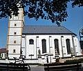 Hustopeče nad Bečvou, kostel Povýšení sv. Kříže - panoramio.jpg