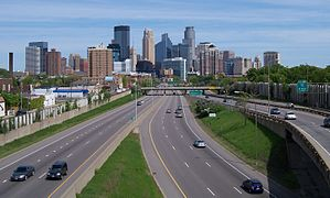 I-35W and Minneapolis skyline 5