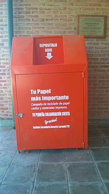 Reciclaje De Papel Wikipedia La Enciclopedia Libre