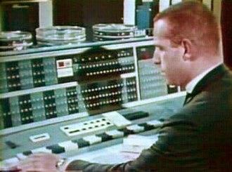 IBM 7090 - IBM 7090 console