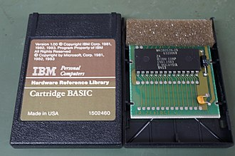 IBM PCjr - IBM PC Jr BASIC Cartridge