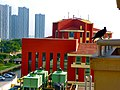 IIFT Kolkata Hostel balcony.jpg