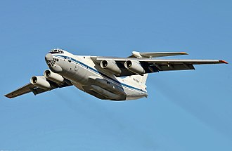 Ilyushin Il-76 - Russian Air Force Ilyushin Il-76MD