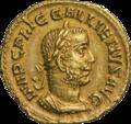 INC-1857-a Ауреус Галлиен ок. 254-255 гг. (аверс).png